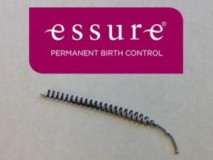 Essure Birth Control Logo with contraceptive.