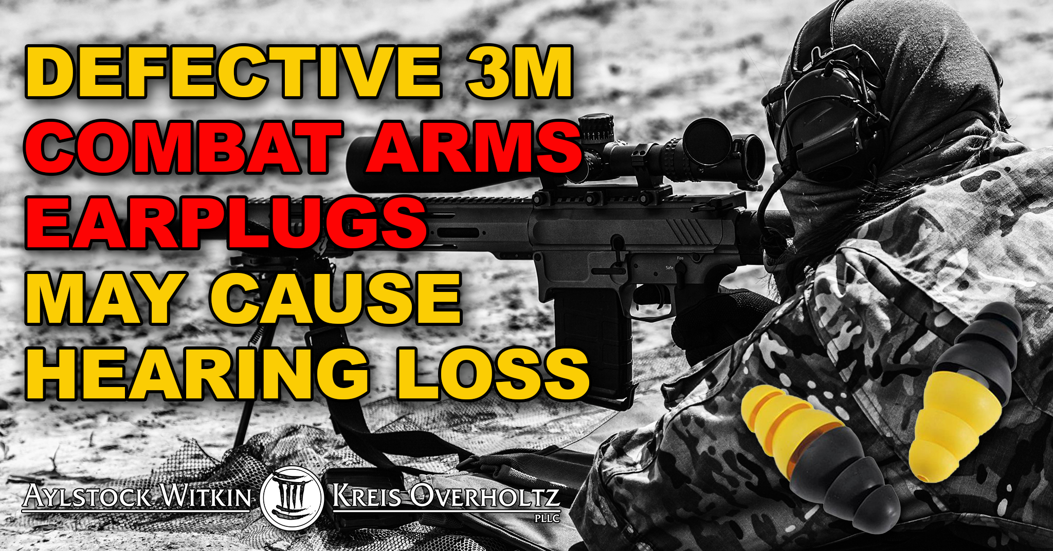 Defective 3M Combat Arms Earplugs May Cause Hearing Loss Or Tinnitus